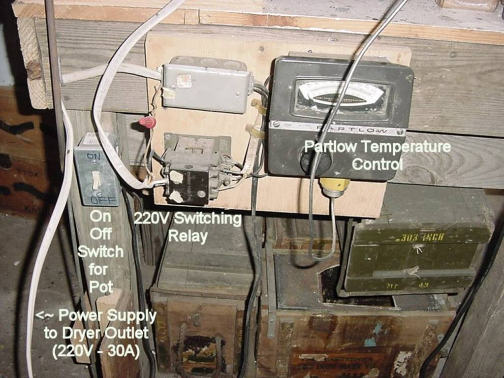 Casting Pot Instructions Thread Fixed Kenmore 80 Series Electric Dryer Heating But Not Here Is A Photo Of My Current Electrical Setup It Uses 220v Switching Relay Made In 1962 According To The Stamp On Side Partlow 0f 1000f